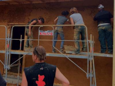 Chantiers participatifs dans la construction ou l'aménagement
