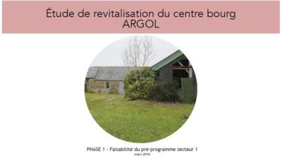 Argol_couv étude revitalisation