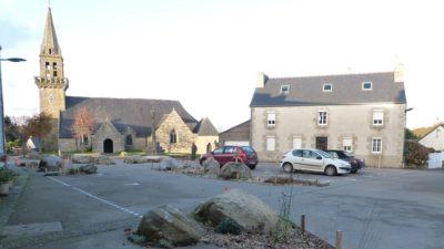 Le Cloitre St Thegonnec-amgt place atelier Bivouac 2017