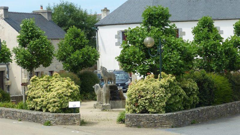 Le Cloitre saint Thégonnec_place