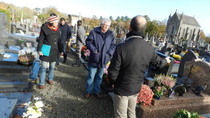 saint aubin du cormier cimetière