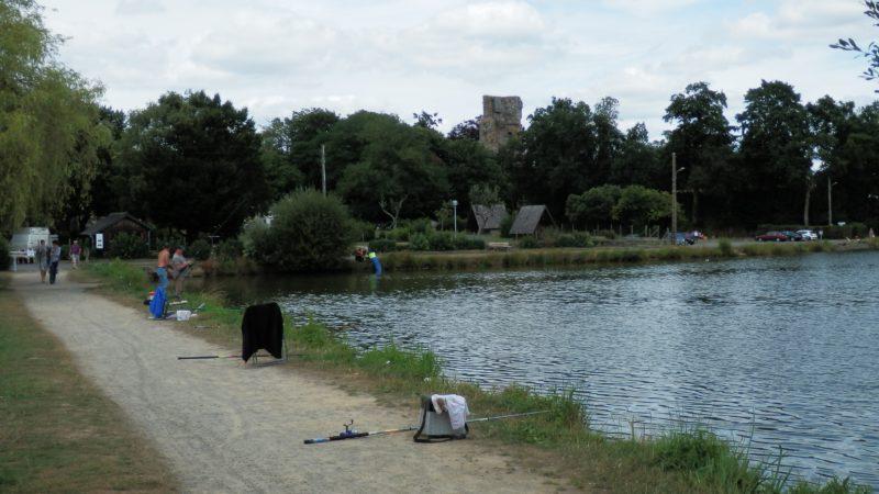 Saint aubin du cormier domaine de l'étang