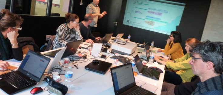 Equipe formation outils collaboratifs Bruded