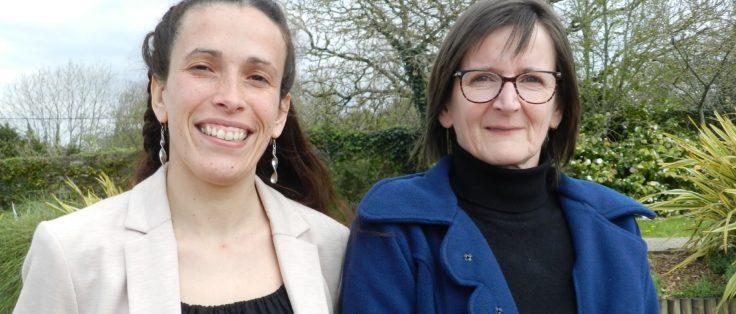 Sarah Müller et Véronique Péreira