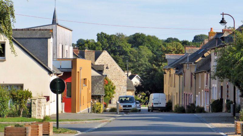 Langouet bourg