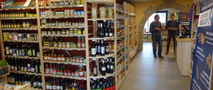 Épicerie bio à Nostang