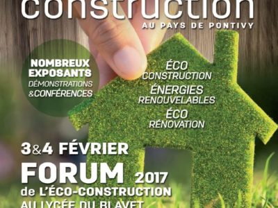 Forum éco-construction 2017