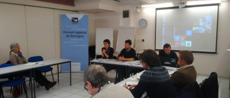 Forum les Territoires Innovent, sur l'installation d'un permaculteur