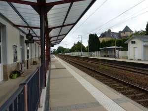 Quai de la gare de Quimperlé