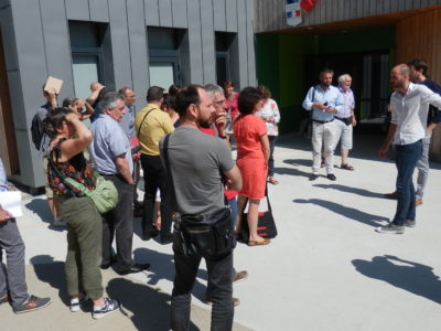 Visite école Treffieux – 9 juillet 2018