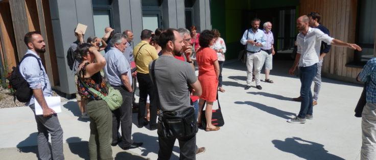 Visite école Treffieux - 9 juillet 2018