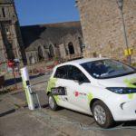 Véhicule électrique de Lannion-Trégor communauté en charge à Plouaret