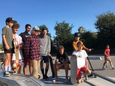 Riec sur Bélon skate park 2019