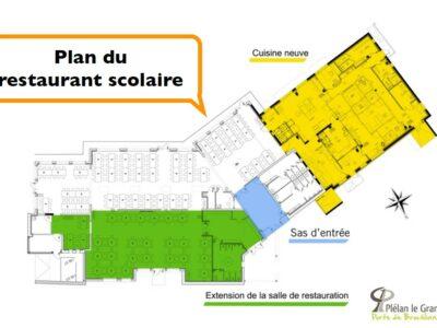Restau scolaire Plélan DR
